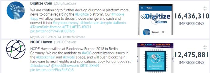 blockchain top 2